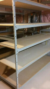 HEAVY DUTY INDUSTRIAL SHELVING AVAILABLE