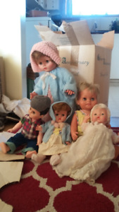 various doll/baby/antiques