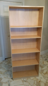 2x bookcases h68χL30 excelled condition