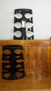 2 Umbra wine racks/holders-Rack pour Vin