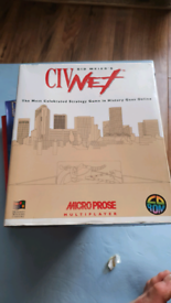 PC game - Civinet by Microprose. Online Multiplayer version