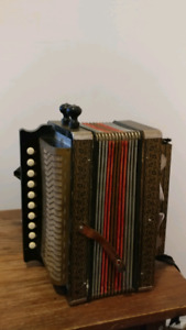Vintage Diatonic Accordion