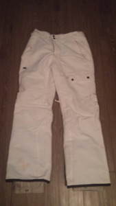 Womens White Snowboard Pants for Sale
