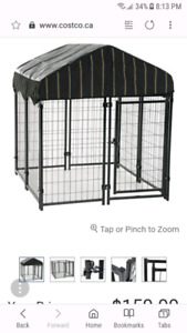 Looking for Portable dog kennel