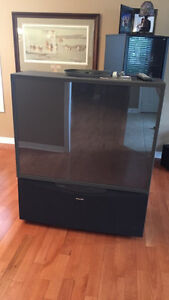 50 inch Toshiba projection tv