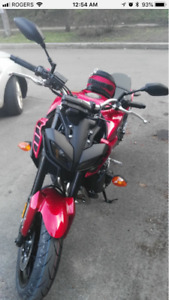 FZ09 2017 red for sale