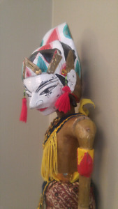 Vintage Indonesian puppet