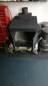 Vintage Alesa wood burning stove