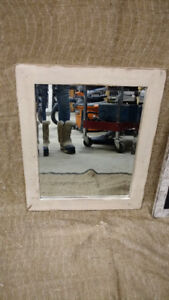 Small Rustic distressed mirror