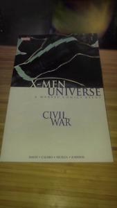 X-Men Universe Civil War Graphic Novel