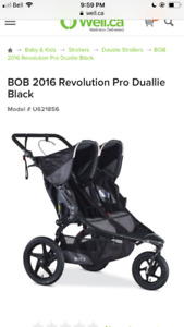 Wanted BOB double stroller