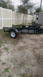 5ft by 8ft trailer new tires