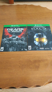 Code gears of war et halo master chief