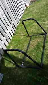 Hanging/ wall mounted tire rack