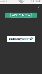 Westjet tickets or travel bank or westjet dollars