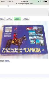ISO: The Great Game of Canada Strathcona County Edmonton Area image 1