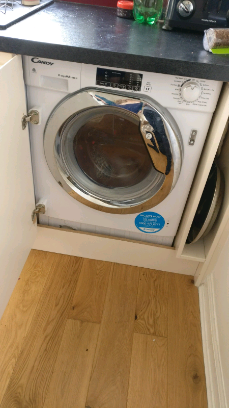 dd7dd876d1f3 4 months old Candy large washer dryer under warranty | in ...