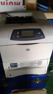 Used HP LaserJet 4250dtn - printer - B/W - laser