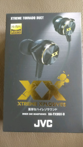 JVC in ear headphones