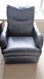 Leather Space Saver Recliner