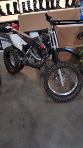 2009 Suzuki DR-Z 125L Big Wheel with ICE TIRES
