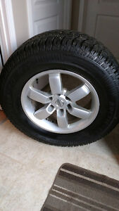 4 Artic Claw Winter XSI Tires and Rims