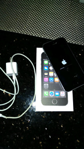 iPhone 5s for sale 16GB Silver/black