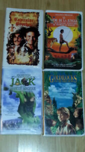Disney films video vhs / 59 films