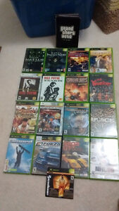 Xbox Bundle, 35 Games, 2 controllers, DVD remote, HD & A/V