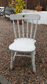 Shabby chic upcycled chairs