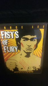 Bruce lee fists of fury very hard to find dvd art cover