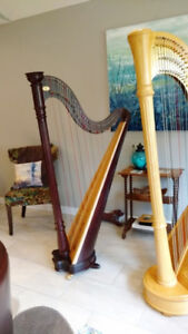 Prelude 40 Lever Harp by Lyon & Healy