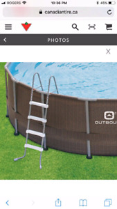JUST IN TIME FOR SUMMER! 16FT X 4FT POOL! EVERYTHING INCLUDED!