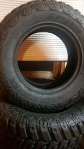 Full Set of LT Truck Tires+