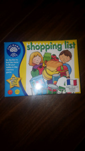 Orchard Toy Shopping List game