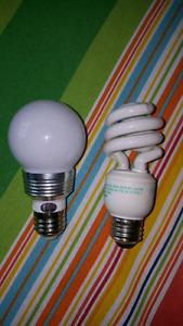 Assortment of 12VDC LED and CFL lights