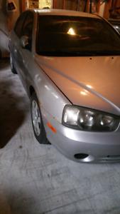 2002 Hyundai Elantra VE   -Parts or Fix