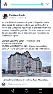Condo - Central to Ottawa-Fantastic River view & golf course