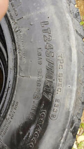 245/70/R17 Firestone truck tires