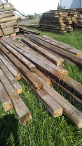"SOLID 4"" X 4""  BARN POSTS"
