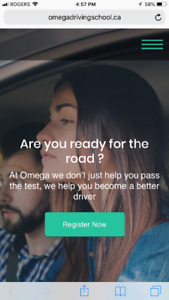 Omega driving school lessons/Course /instructors/certificate