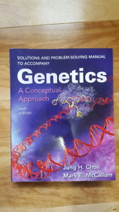 Solutions Manuel for Genetics a Conceptual Approach (6th Ed)