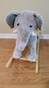 Elephant circus rocker toy for sale