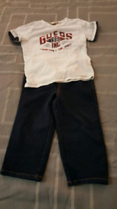 Toddler Boy Guess Outfit