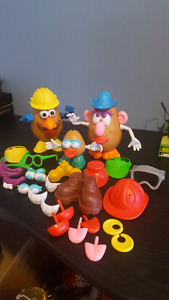 Mr potatoe head and family