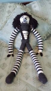 Creepy Pasta Laughing Jack doll