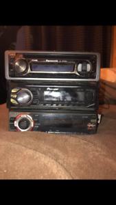 3 car stereos