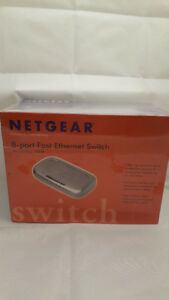 Netgear FS608 8 Port Ethernet Switch