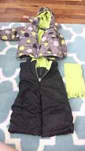 Boys 12 month Snowsuit set