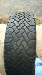One winter tire size 225/60R16